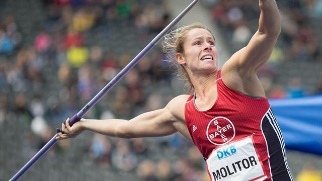 Speer-Weltmeisterin Molitor Zweite in Halle - Hussong gewinnt