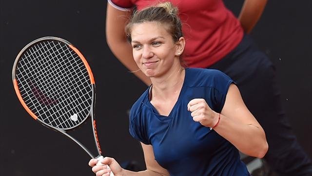 Halep cruises into Italian Open final, will face Svitolina