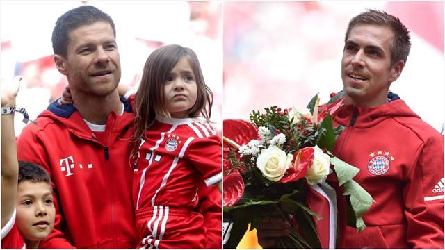 Bayern-duo takket av - for noen karrierer