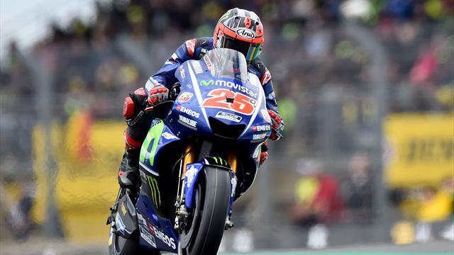 Viñales remporte son duel contre Rossi pour la pole