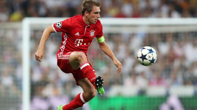 Philipp Lahm and Xabi Alonso sign off in style as champions Bayern beat Freiburg