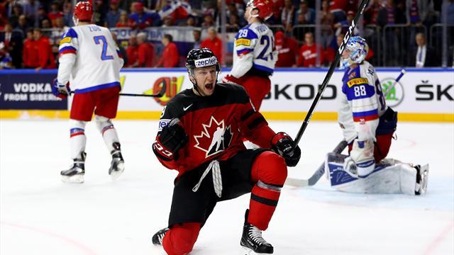 Kanada greift gegen Schweden nach dem Titel-Hattrick