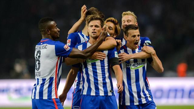 «Бавария» сыграла вничью с «Гертой», ведя 2:0
