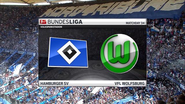 Bundesliga: Hamburg - Wolfsburg (Özet)