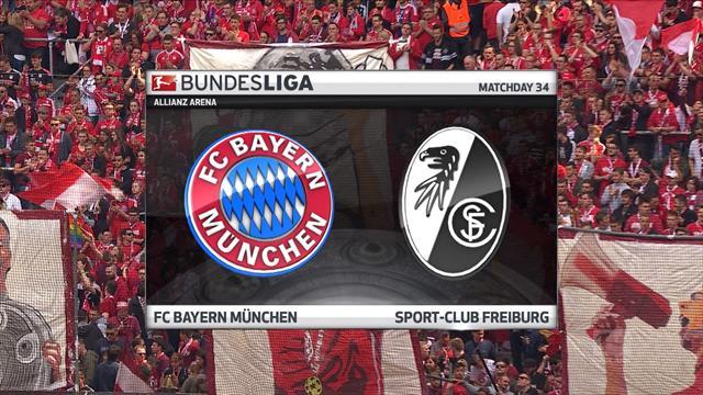 Bundesliga: Bayern Münih - Freiburg (Özet)