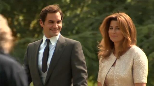 Federer était invité au mariage de Pippa Middleton
