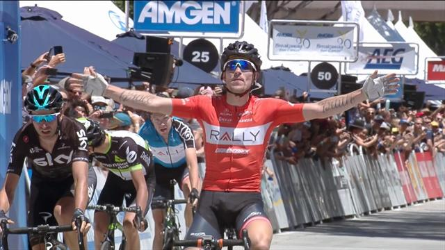 Evan Huffman vince l'ultima tappa in California, corsa a George Bennett