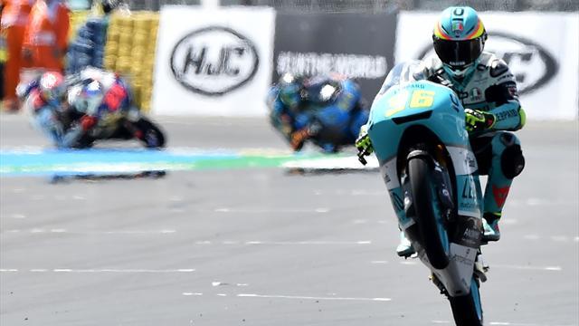 Moto3: Mir beffa Fenati e coglie il quinto successo stagionale, Bulega 4°