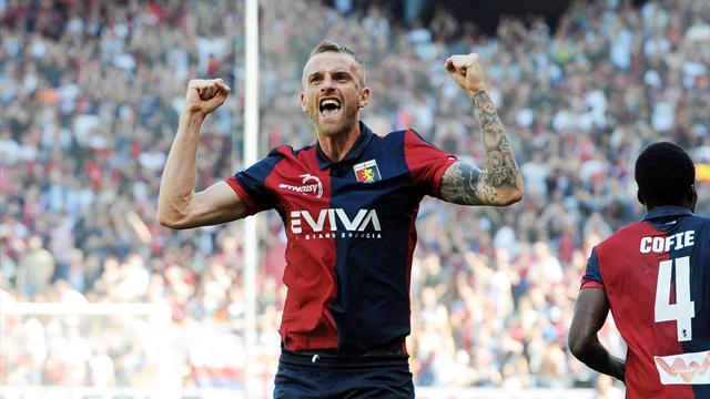 Rigoni e Simeone fanno godere il Genoa 2-1 al Torino e salvezza conquistata