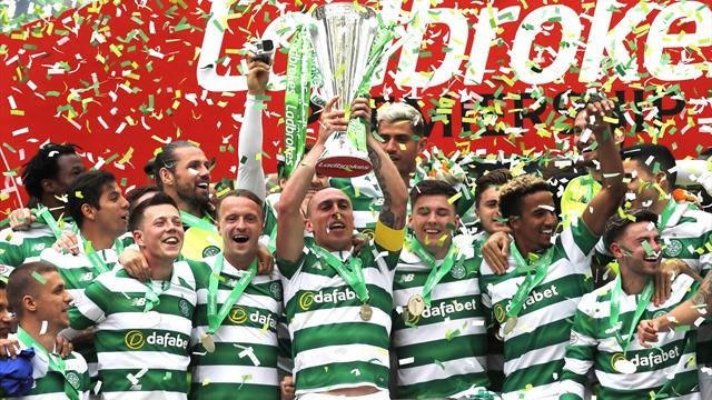 Unbeaten Celtic end astonishing season as Invincibles with win over Hearts