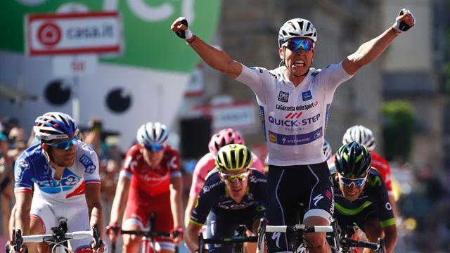 Юнгелс выиграл 15-й этап «Джиро», Закарин финишировал девятым без потерь во времени