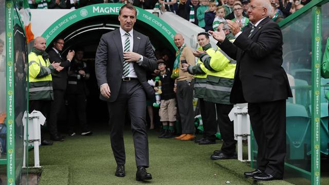 Rodgers praise 'infrangibles' as Celtic finish season unbeaten