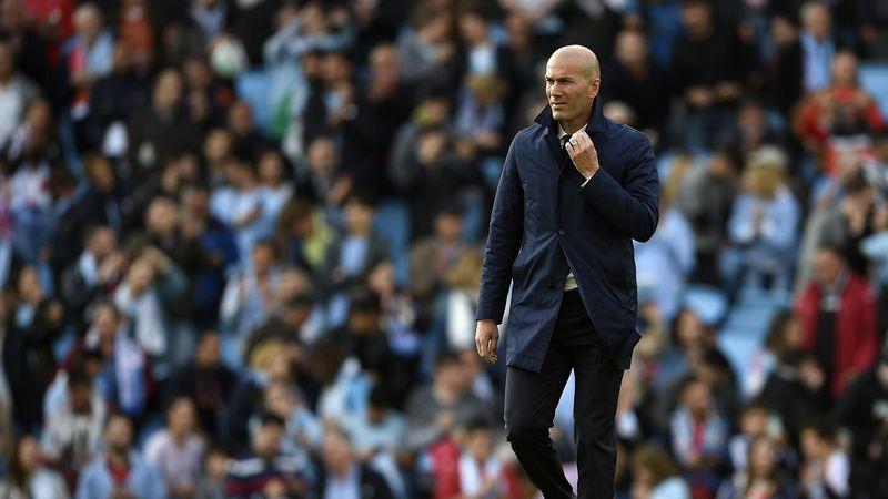 Zinedine Zidane avec le Real Madrid