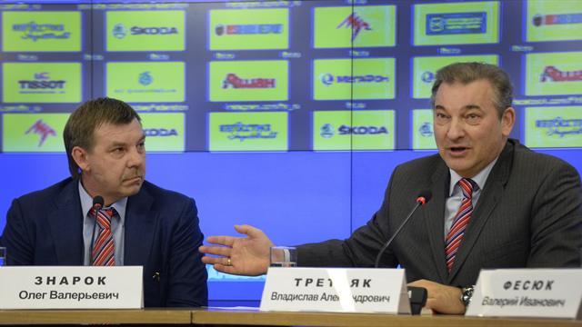 Третьяк: «Знарок продолжит работу на посту главного тренера сборной России»