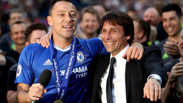 Antonio Conte calls Arsenal favourites for FA Cup after Chelsea celebrate title