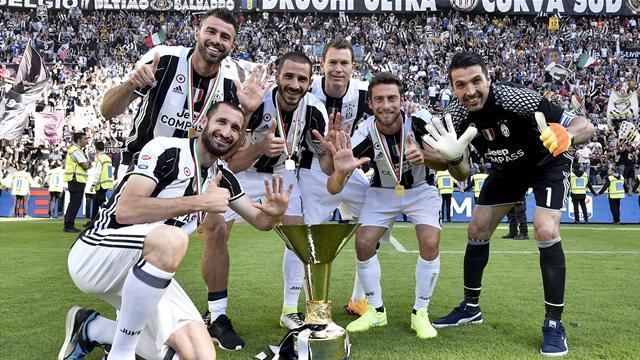 Juventus, 6 senatori per 6 anni di trionfi senza eguali