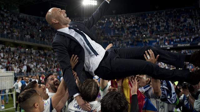 Plus vite que tout le monde, Zidane continue d'écrire sa légende