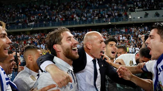 Zidane : «J'aimerais me lever et danser»