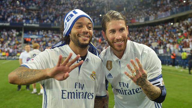 Tension maximale au Real : altercation entre Ramos et Marcelo à l'entraînement