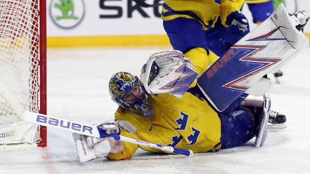 Lundqvist ble helten da Tre Kronor tok VM-gull