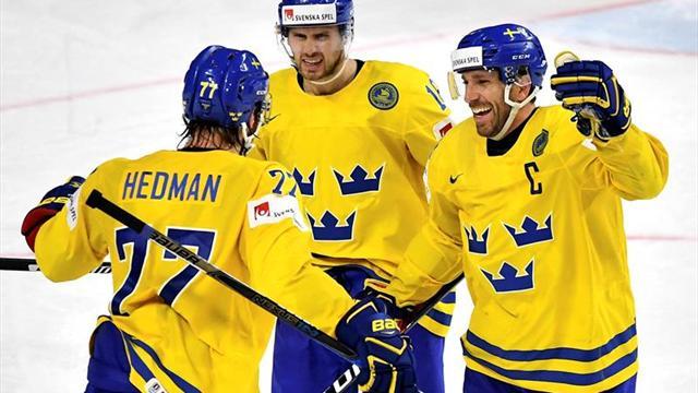 Suecia destrona a Canadá en los 'shootout' y logra su décimo título mundial