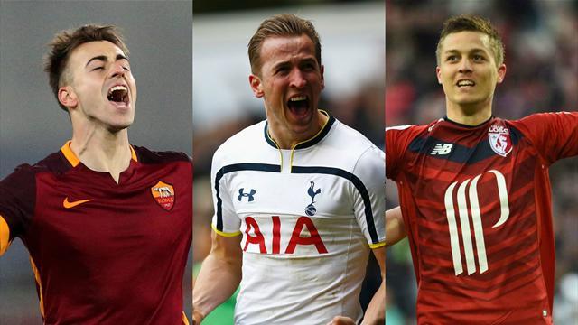 L'équipe type du week-end : El Shaarawy, Kane et De Préville ont fait oublier Messi et Cavani