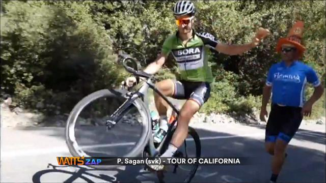 Watts: Cliff diving and Sagan's wheelie skills