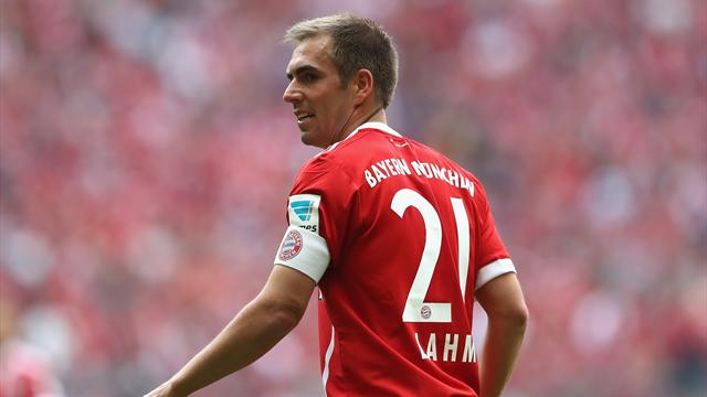 Philipp Lahm wins 2017 German Footballer of the Year