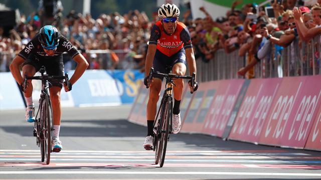 Nibali frappe fort à Bormio, Dumoulin reste en rose mais a perdu gros