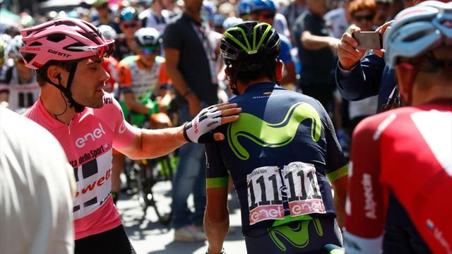 "Alejandro Valverde, en Eurosport: ""Trabajaré para que Nairo gane el Tour de Francia"""