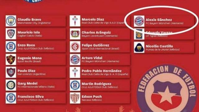 Calciomercato, niente Italia per Alexis Sanchez: accordo con il Bayern Monaco