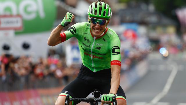 Pierre Rolland remporte la 17e étape du Giro