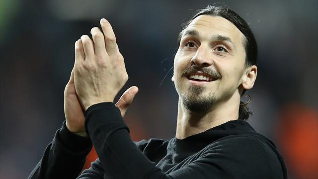 Zlatan retouche déjà le ballon, moins d'un mois après son opération