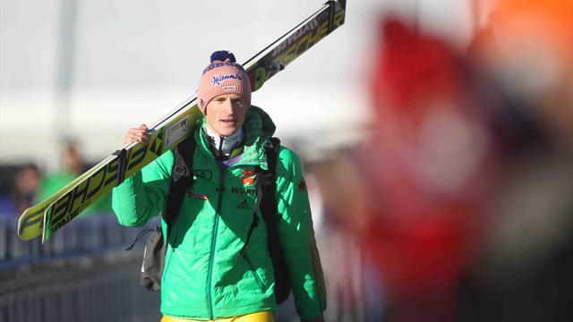Ex-Skisprung-Weltmeister Freund beginnt wieder mit dem Training