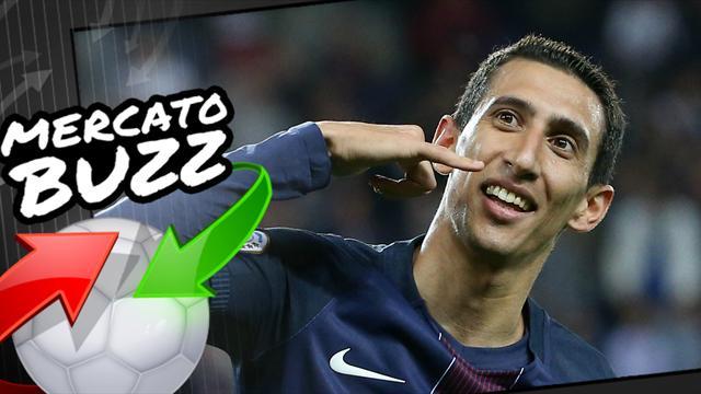 23h21 Le Barça et Messi poussent Di Maria à signer