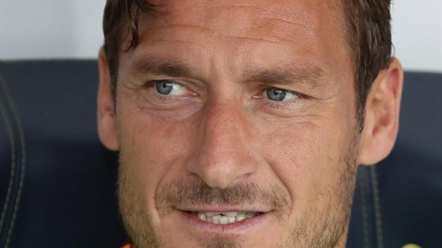 Totti anunció cuál será su último partido