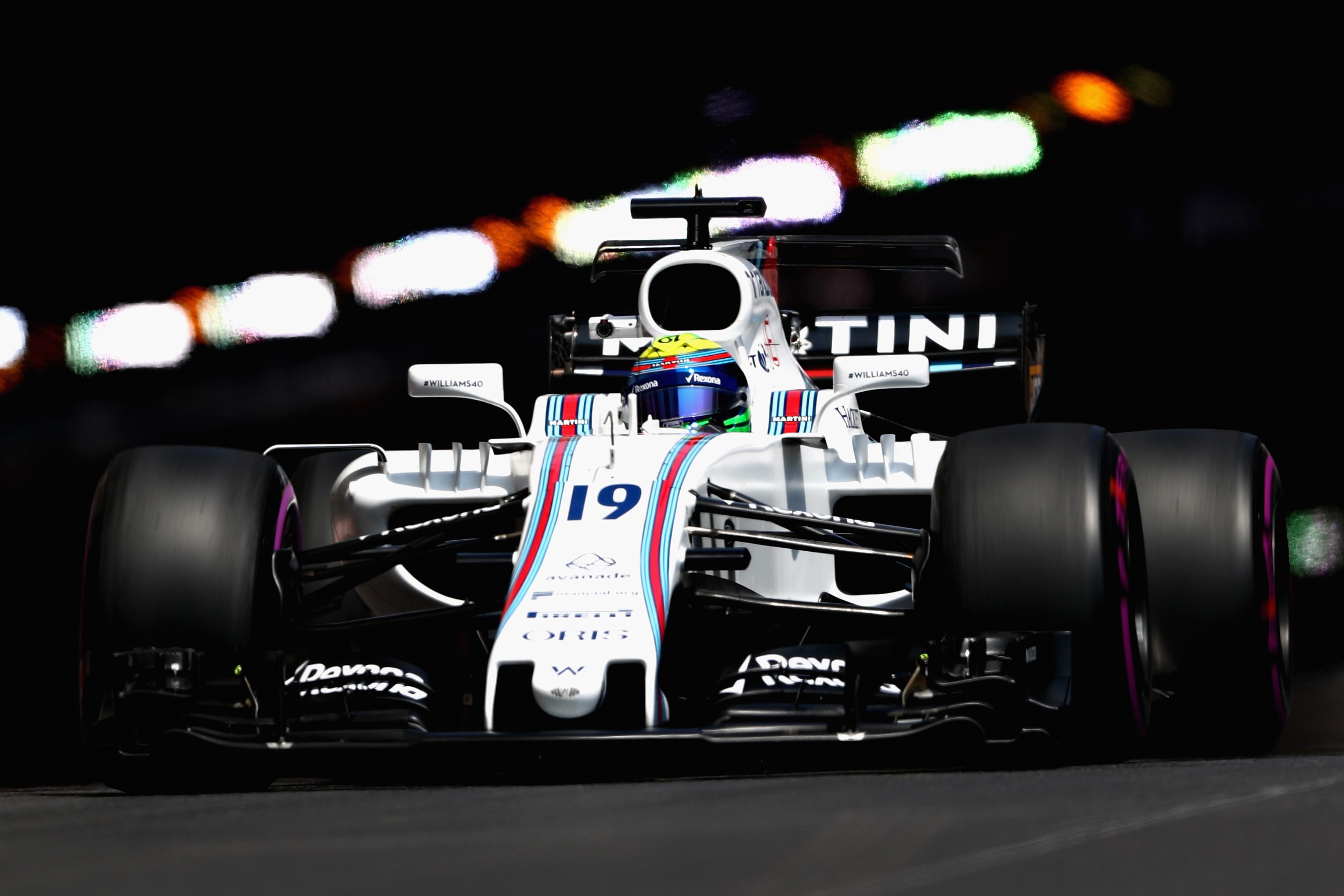 Felipe Massa (Williams) au Grand Prix de Monaco 2017