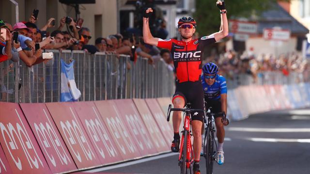 Van Garderen sauve son Giro, Pinot recolle au trio de tête
