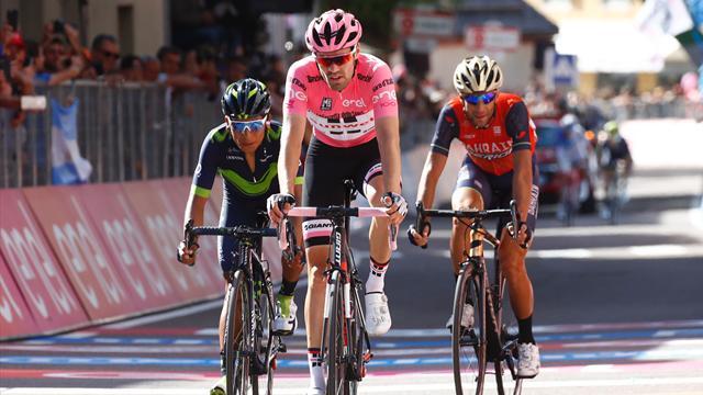 """Dumoulin : """"Je serais content que Nibali et Quintana perdent le podium"""""""