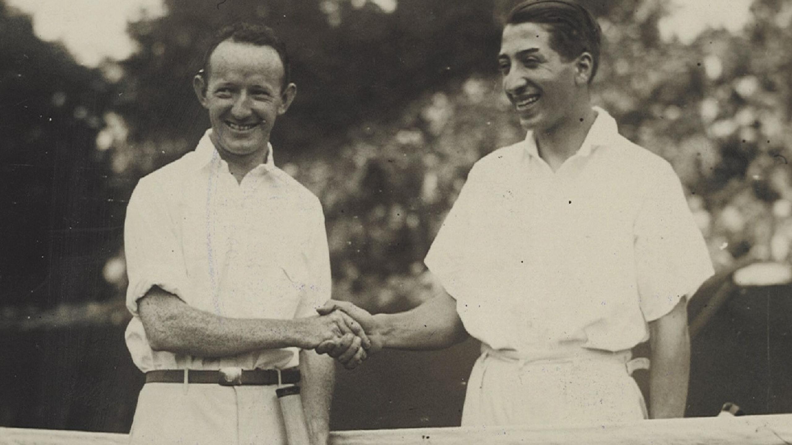 Zeitreise mit French Open Legende René Lacoste Eurosport Deutschland