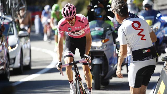 Mistet sammenlagtledelsen i Giro d'Italia etter nybegynnerfeil: – Krise