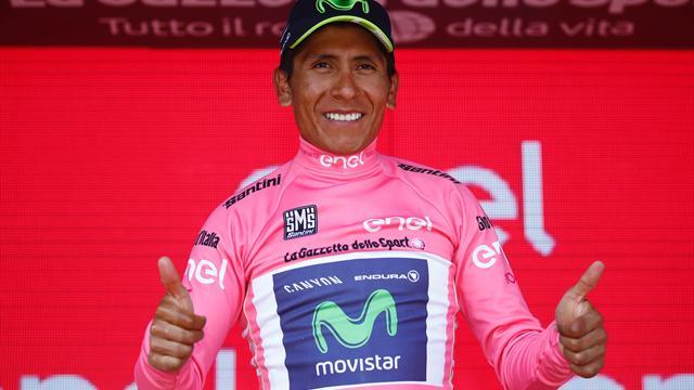 Quintana prend le maillot rose à Dumoulin, Pinot se rapproche encore !