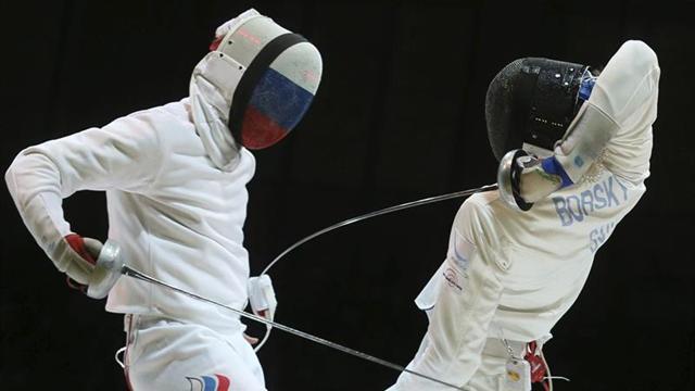 Favoritos avanzan en Grand Prix Internacional de esgrima de Bogotá