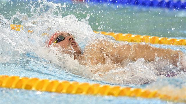 Troisième médaille pour la France, en bronze sur 4x50m 4 nages mixte
