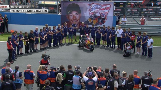 A Donington, 8 minutes de silence en hommage à Nicky Hayden