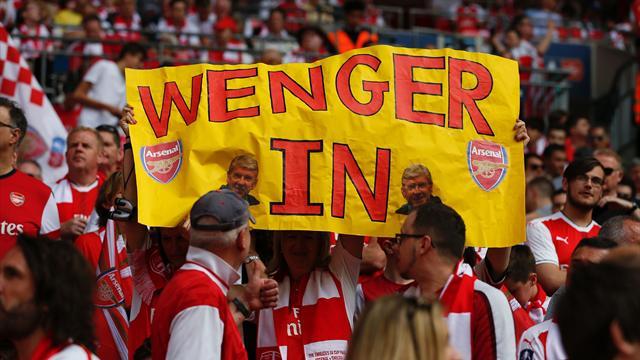 Wenger aux supporters : «Soyons unis, supportez nos joueurs et notre club»