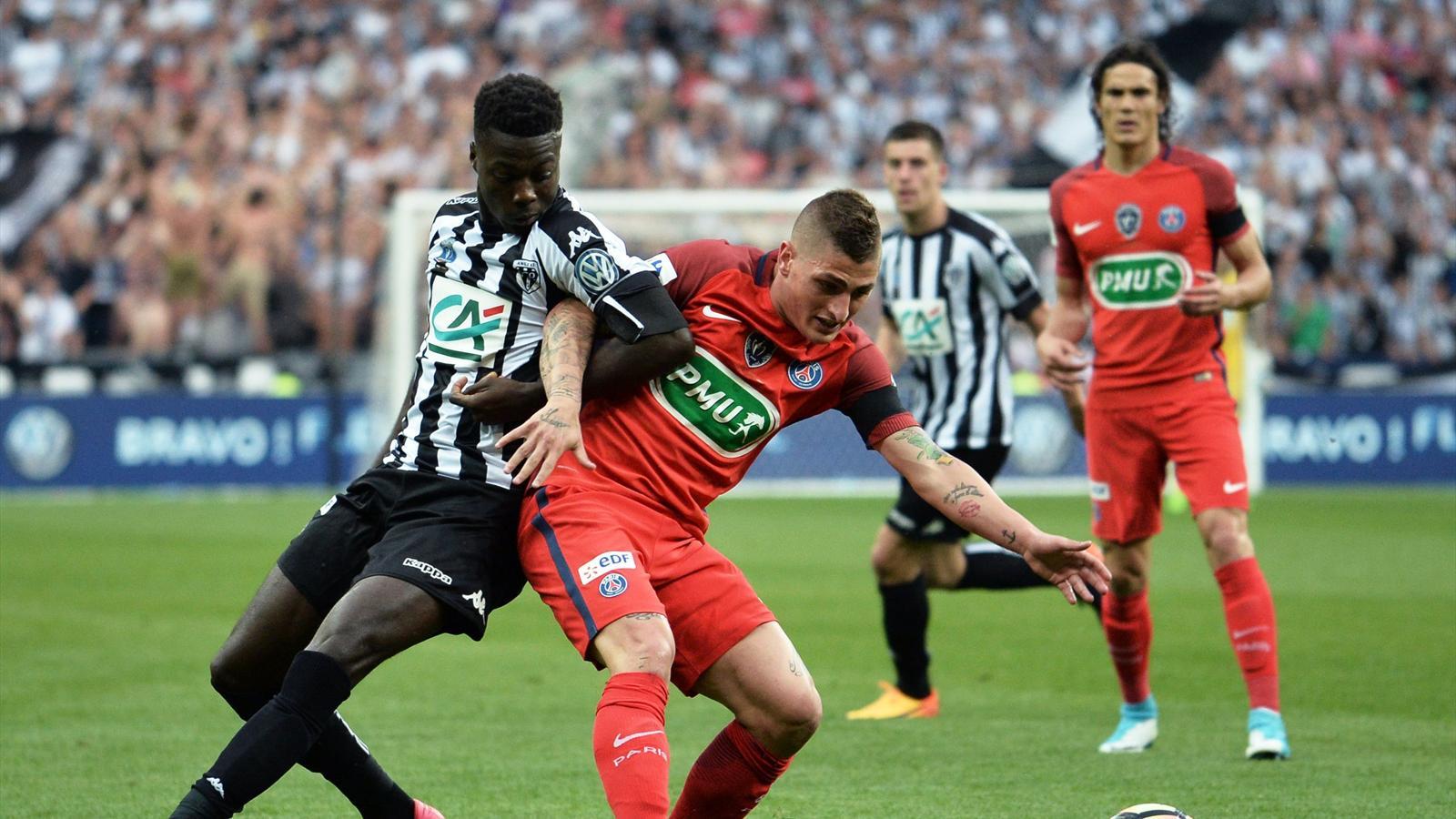 En direct live angers psg coupe de france 27 mai 2017 eurosport - Coupe de france football calendrier ...