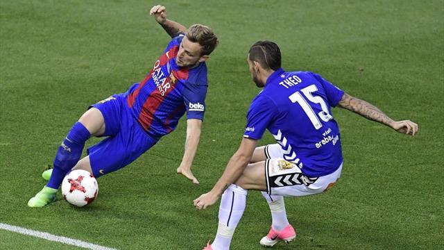 Messi le dio la victoria a Barcelona con dos goles ante Alavés