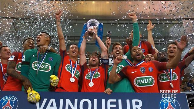 L'instant historique : quand le PSG a soulevé sa 11e Coupe de France