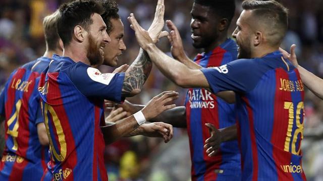 El Barcelona regala a Luis Enrique una despedida a la altura y cierra ciclo con una Copa del Rey
